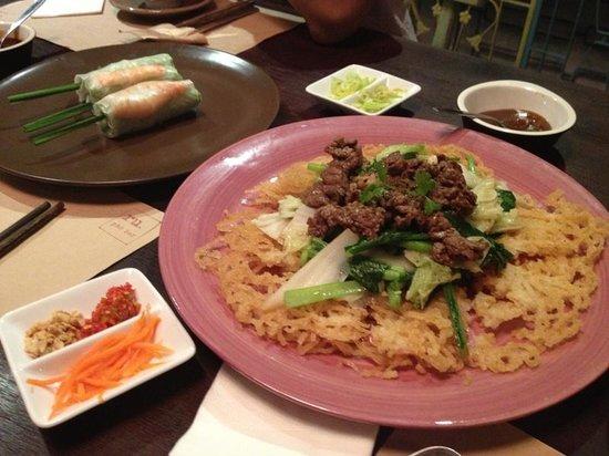 Ru Restaurant: Nice presentation of food