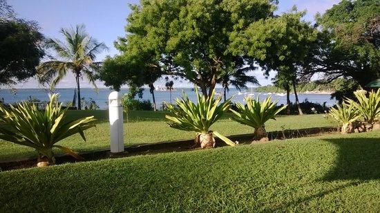 Mkonge Hotel: gardens