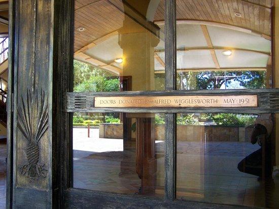 Mkonge Hotel: 1951 doors