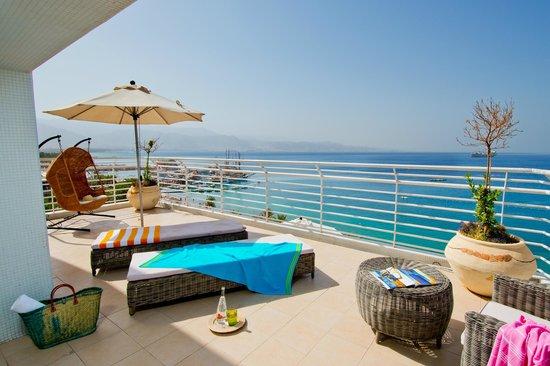Leonardo Plaza Hotel Eilat: Balcony