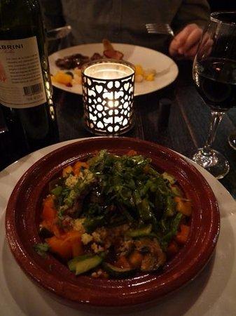 Brasserie Appelmans : Lovely Moroccan vegetable tagine