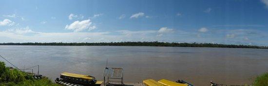 El Amazonas en la puerta pero para bañarse mejor en la piscina
