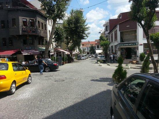 Hotel Aslan Istanbul: شارع الفندق