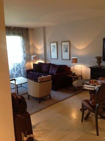 Le Mas du Grand Vallon : salon suite