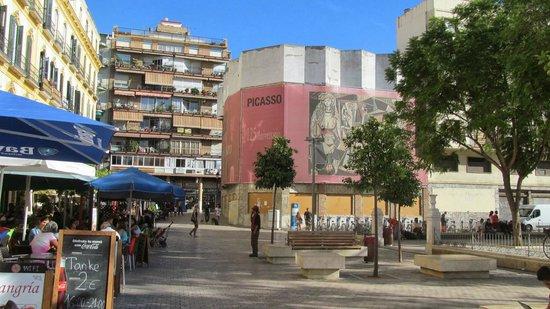 Fundacion Picasso - Museo Natal : Museo Casa Natal Picasso - Alrededores