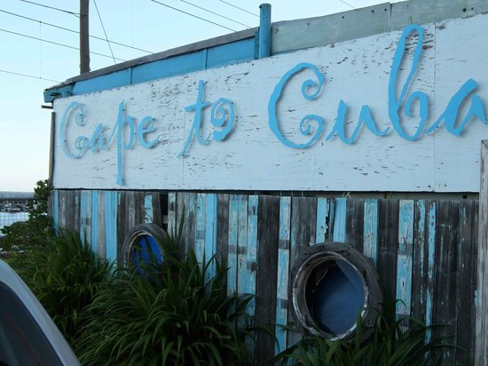 Cape to Cuba - Kalk Bay: welcome at....