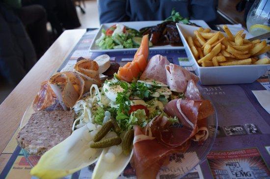 Le Jacquemart : assiette ardenaise