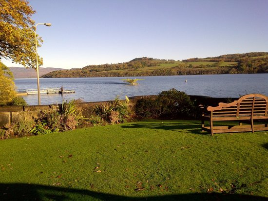 Cameron House on Loch Lomond: Even have their own SeaPlane