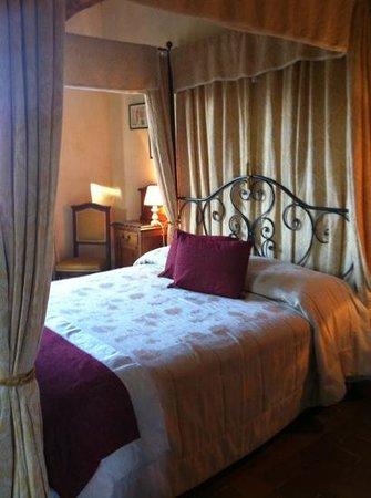 Villa di Capovento : la stanza del Re