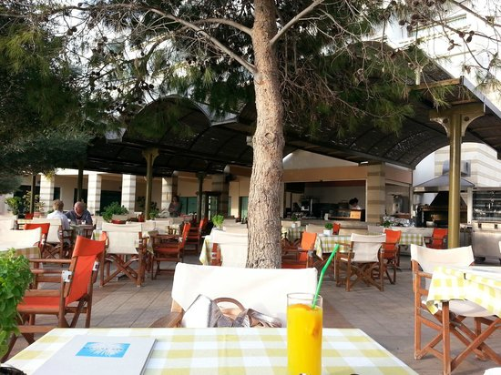 Constantinou Bros Athena Royal Beach Hotel : Pool Bar and Cafe