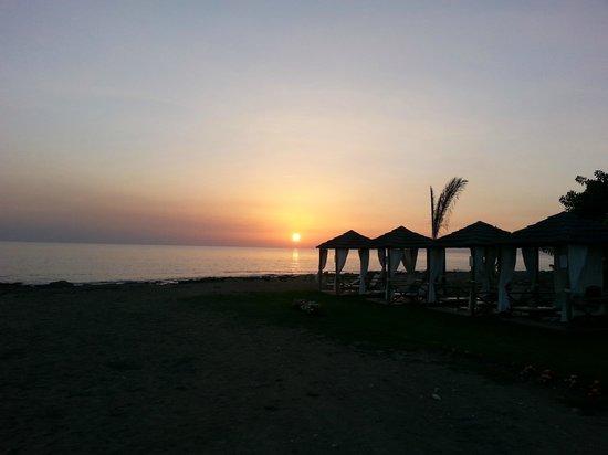 Constantinou Bros Athena Royal Beach Hotel: Beach Cabanas