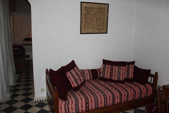 Villa Maroc: More sitting area in our bedroom