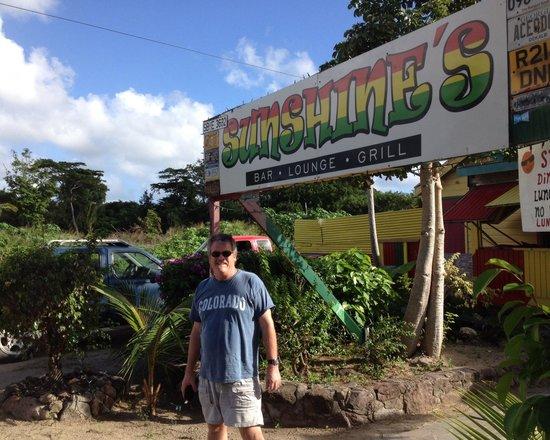 Sunshine's Beach Lounge: A fun time in Nevis