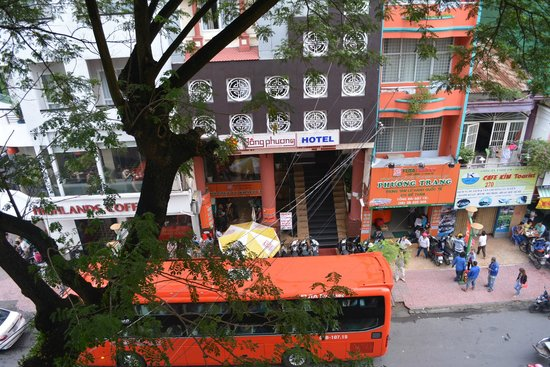Vinh Hostel: view from room