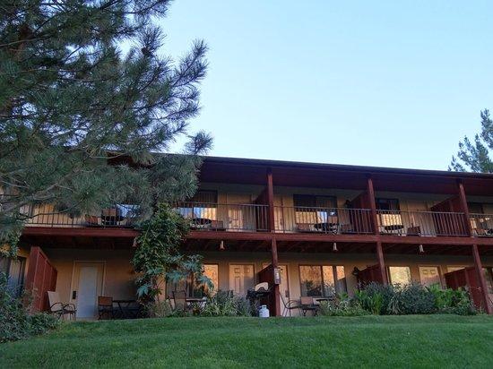 Cliffrose Lodge & Gardens : Une vue des chambres