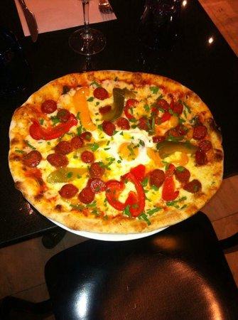 Caffe della Pizza: Pizza soleil