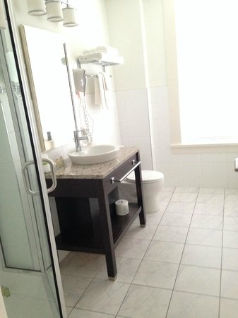 Hotel Rialto : Bathroom 403 - no tub, heated floor :)
