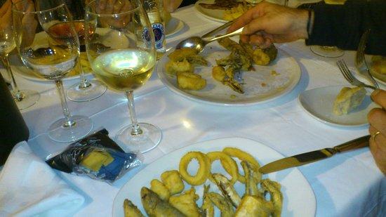 El Trillo Malaga: Frittura