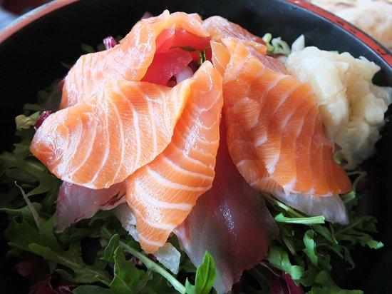 Al Desiderio: sashimi misto