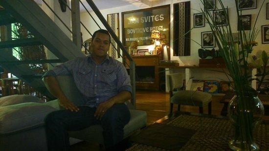 Jam Suites Boutique Hotel : Sala e recepção
