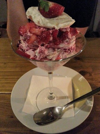At One Dining Room: Eaton Mess