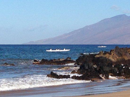 Fairmont Kea Lani, Maui : View 2 from beach
