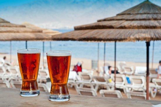 U Coral Beach Club Eilat: Beach