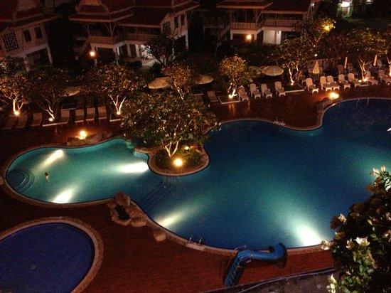 Cha-Am Methavalai Hotel : Utsikt fra rom