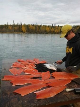 Jimmie Jack's Alaska Lodge: Salmon Filets