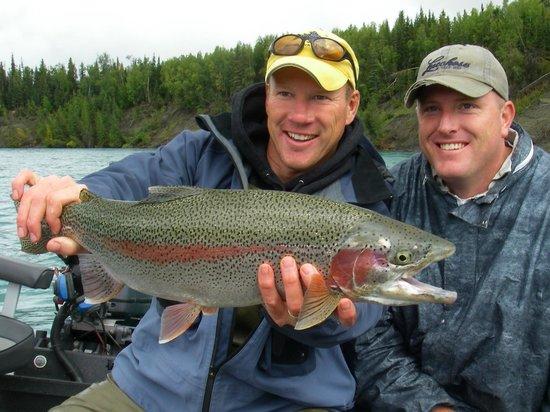 Jimmie Jack's Alaska Lodge: Kenai River Trophy Rainbow Trout