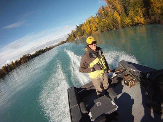 Jimmie Jack's Alaska Lodge: Kenai River