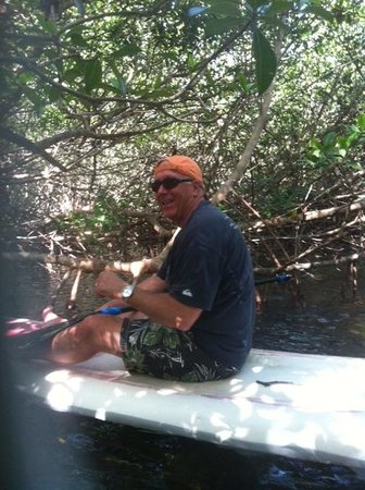 SUP Key West : In the Mangrove tunnel