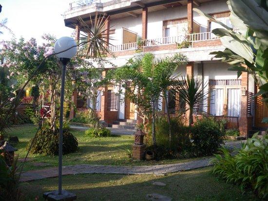 Karangsari Guest House : Maison principale, avec vue sur les rizières!