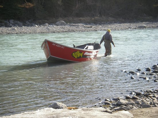 Jimmie Jack's Alaska Lodge: Kasilof River Drift Boat Fishing