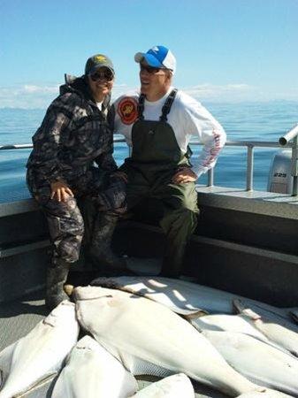 Jimmie Jack's Alaska Lodge : Cook Inlet Halibut Fishing