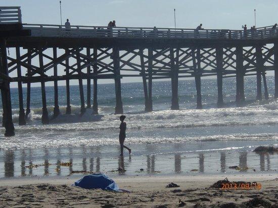 Rodeway Inn San Diego Beach SeaWorld Area: pier