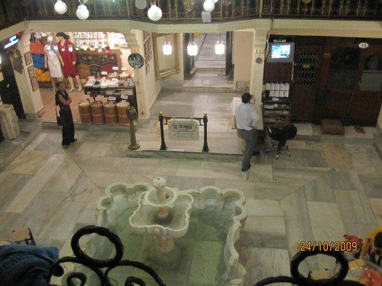 Sultanahmet Hamami: вид со второго этажа