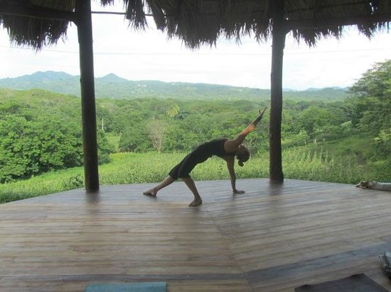 Casa Maderas Ecolodge: Our Picturesque Yoga Studio
