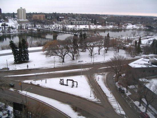Radisson Hotel Saskatoon: Vue de la chambre