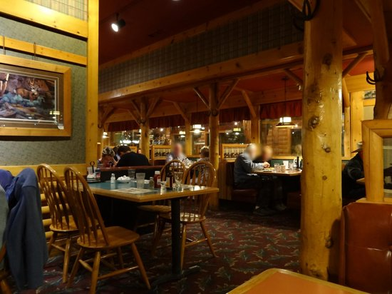 Ruby's Inn Cowboy's Buffet and Steak Room: Un coin de la salle