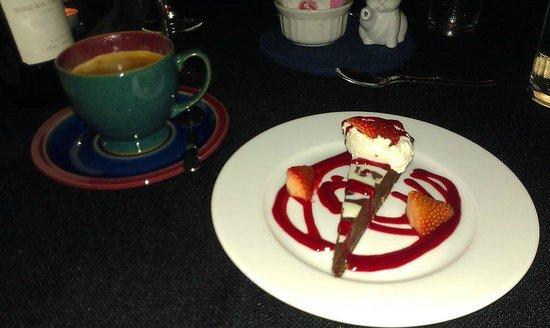 Alpenhorn Kitchen : My dessert - Jazzberry Tart