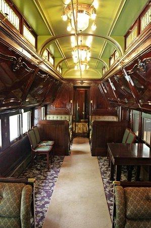 Hildene, The Lincoln Family Home : Interior vagon