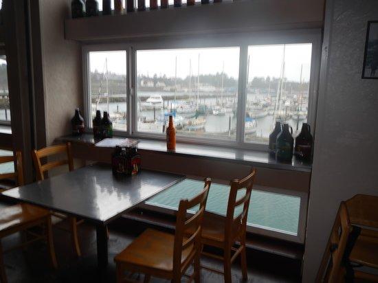 Rogue Ales Bayfront Public House: view