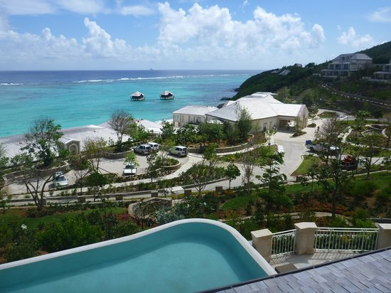 Canouan Estate Villas & Residences: View from our villa