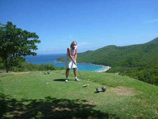 Canouan Resort at Carenage Bay - The Grenadines: View from the 14th tee