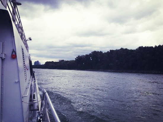 Twin City Liner: the view