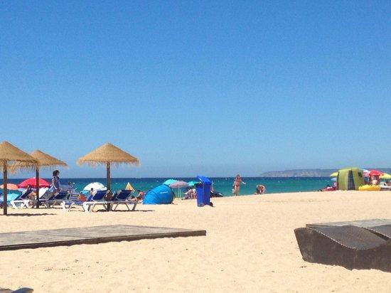Playa de Zahara de los Atunes: Vaya arenita