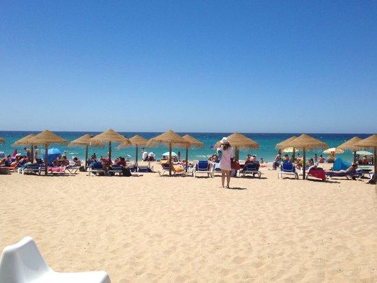 Playa de Zahara de los Atunes: Aguas turquesas
