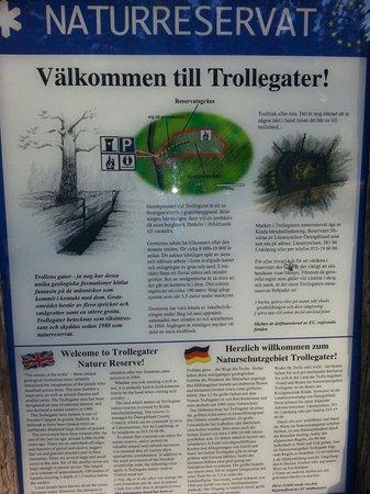 Rimforsa, Σουηδία: Trollegater