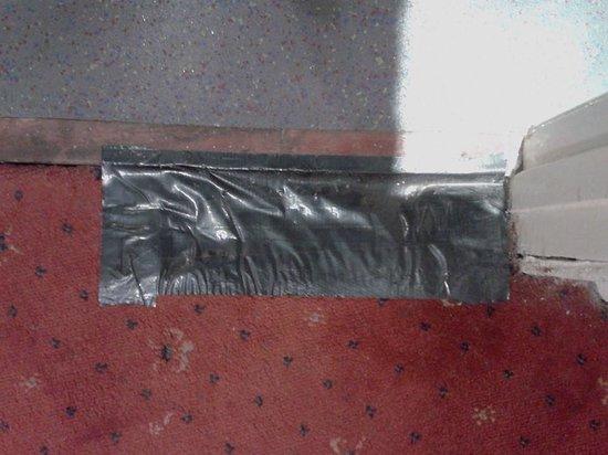 Royal Albion Hotel-Brighton: Carpet fix